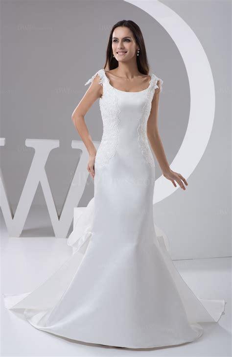 white mermaid prom dress lace modern hot romantic formal