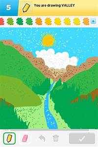 Valley Drawings - How to Draw Valley in Draw Something ...