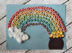 St. Patrick's Day Rainbow Craft • The Simple Parent