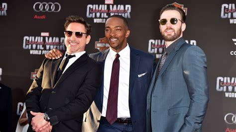 'Captain America: Civil War' Premiere Sets Up Epic Brawl ...