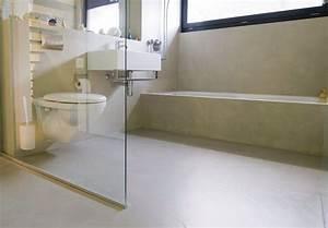 Litá podlaha do koupelny