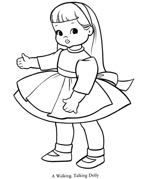 coloring doll baby doll coloring pages coloring home