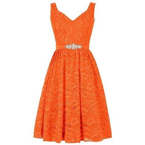 orange cocktail dresses ideas  pinterest red