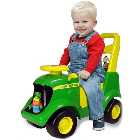 deere tractor scooter toddler ride on 117 | w ty 35206 7