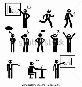 Human Trainer Exercise Chart Business Finance Office Workplace People Man Stock