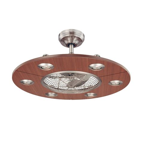 ceiling fans with remote control and light lowes shop allen roth dexter 28 in brushed nickel downrod