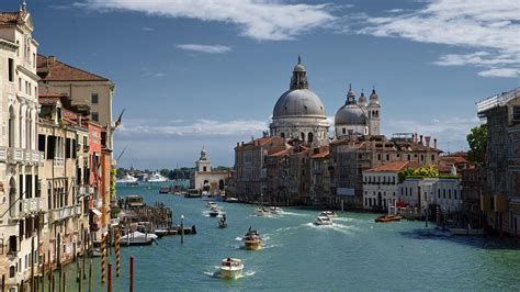 Canal Boat Italy by Wallpaper Venice Grande Canal Boat Italy Desktop