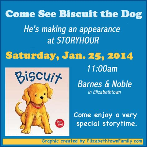 barnes and noble elizabethtown ky come meet biscuit the at storytime at barnes noble