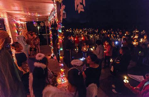 las posadas procession reaches  generations san