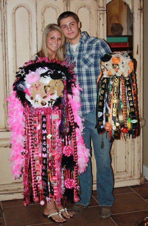 Texas Homecoming Mums and Garters