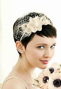 Coiffure Mariage Cheveux Courts Photos : coiffure mariage 2019 cheveux court ~ Melissatoandfro.com Idées de Décoration