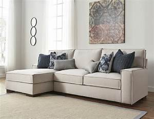 Kendleton sectional 54704 by ashley furniture stone color for Ashley furniture sectional sofa sale