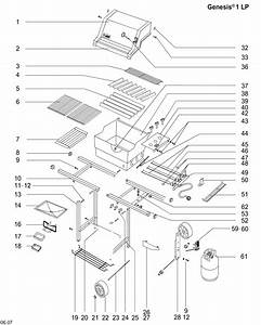 Wiring Diagram  29 Weber Spirit Parts Diagram
