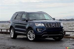 Ford Explorer 2017 : 2017 ford explorer does just fine on 4 cylinders car reviews auto123 ~ Medecine-chirurgie-esthetiques.com Avis de Voitures