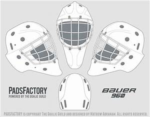 bauer goalie mask template pictures to pin on pinterest With bauer goalie mask template