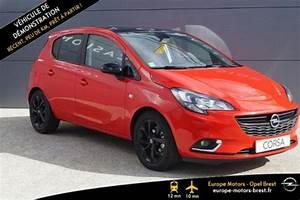 Opel Corsa Color Edition 2017 : voiture occasion opel corsa 1 4 turbo 100ch color edition start stop 5p 2017 essence 29200 brest ~ Gottalentnigeria.com Avis de Voitures