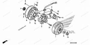 Honda Motorcycle 2004 Oem Parts Diagram For Alternator