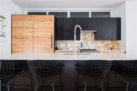 geometric backsplash designs  kitchen decor possibilities