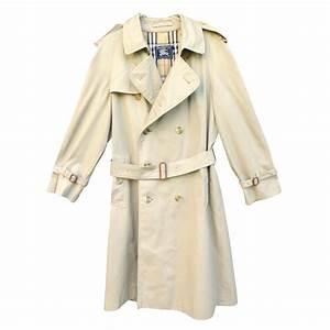 Trench Coat Burberry Homme : manteaux homme burberry trench homme polyester beige joli closet ~ Melissatoandfro.com Idées de Décoration