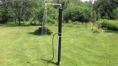 Diy Outdoor Solar Shower By Luc Courchesne 072013 On Vimeo
