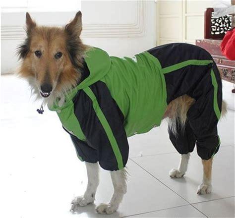 hot selling dog raincoat large dog clothes pet dog