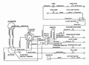 Custom Triumph 650 Wiring Diagram