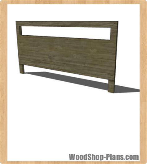 Ana White Headboard Plans by King Headboard Plans Woodworking Image Mag