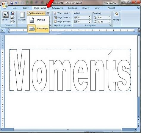 ms word   block lettering  scrapbooks