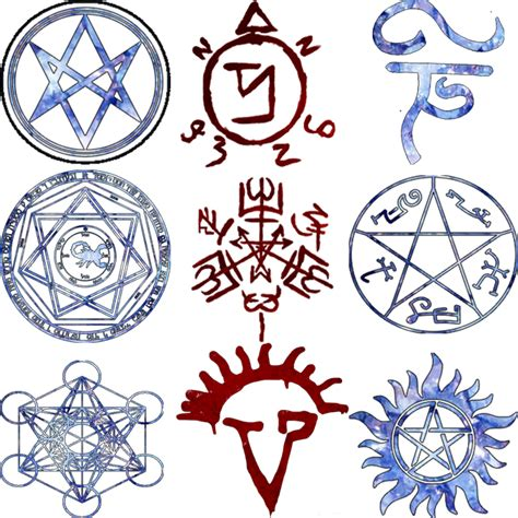 Supernatural Demon Protection Symbol