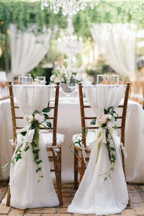 on vous pr 233 sente la housse de chaise mariage en 53 photos mariage et inspiration