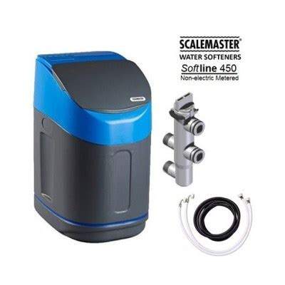 master water conditioning corp uv l scalemaster softline 450 non electric metered water softener