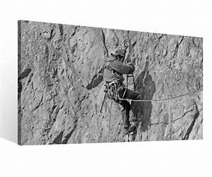 Schwarz Weiß Bilder Gerahmt : leinwand 1tlg xxl sport bergsteigen berg kletterer schwarz wei leinwandbild bilder wandbild ~ Watch28wear.com Haus und Dekorationen