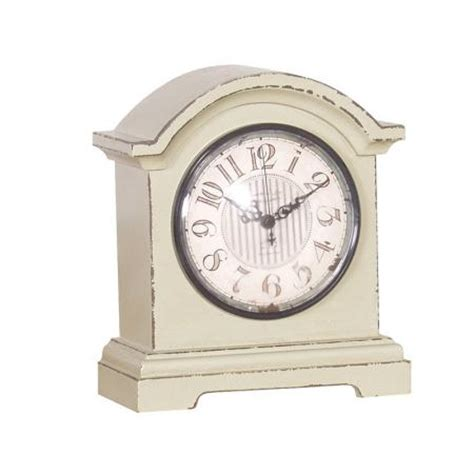 shabby chic mantle clock living clocks mulberry moon