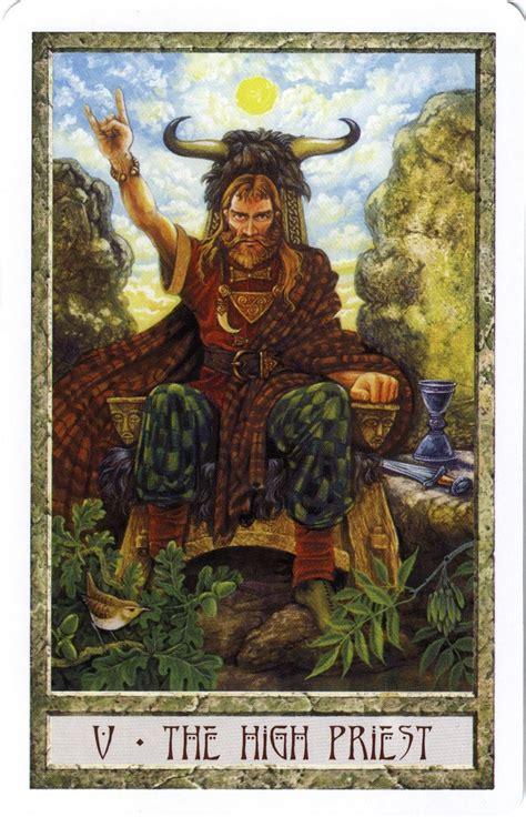 Druid R Deck Loe by The Hierophant From The Druid Craft Tarot Tarot Major