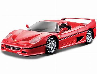 Ferrari Bburago F50 Rot Race Play