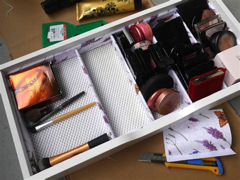 diy makeup drawer organizer diy makeup storage drawer dividers a beautiful zen