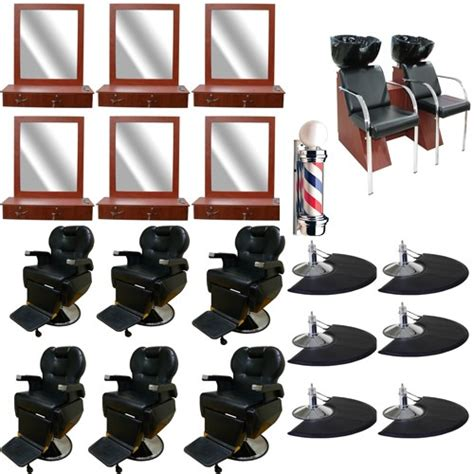 barber chair package salon chair package
