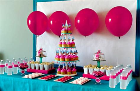 Decorating Ideas Birthday by 1st Birthday Decoration Ideas At Home For Favor