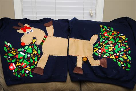 creative ugly christmas sweaters bored panda