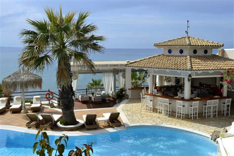 Pool Bar by Pool Bar Delfino Boutique Hotel In Corfu Greece