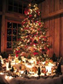 christmas tree village o christmas tree pinterest