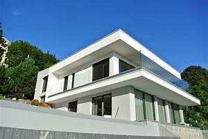 maison contemporaine sur terrain en pente a saint didier With good maison en pente forte 8 construction maison lyon construction dune maison