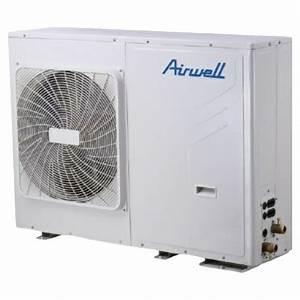 Pompe A Chaleur Reversible Air Air : pompe chaleur monobloc air eau r versible 9 kw airwell ~ Farleysfitness.com Idées de Décoration