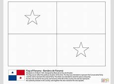 Panama Flag Coloring Pages Learny Kids
