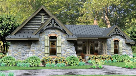 hillside cabin plans 1 home plans one home designs from homeplans com