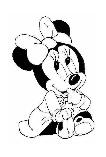 Minnie Mouse Mickey Coloring Disney Rangoli Drawings