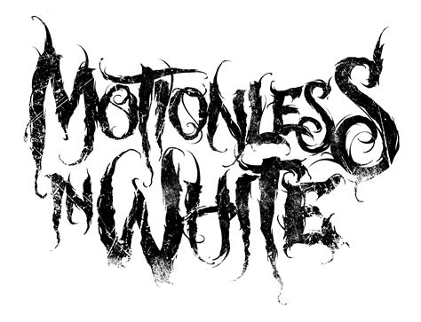 gerd  kleines muster notizbuch motionless  white