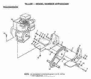 Ayp  Electrolux 3332a89  1998  Parts Diagram For Transmission