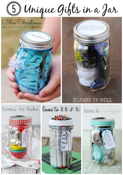 cleans up well gifts in jar for men
