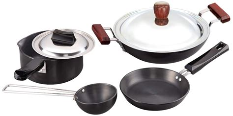 anodized hard cookware vs ceramic aluminum compared